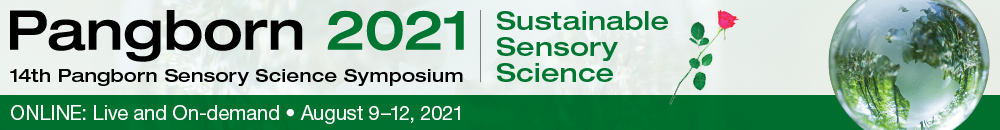 14th Pangborn Sensory Science Symposium, Sustainable Sensory Science,